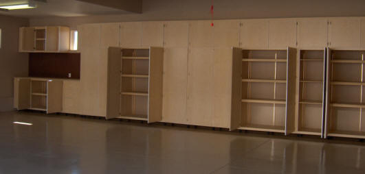 Tucson STS garage storage cabinets & STS garage storage cabinets shelves that slide pull out shelves